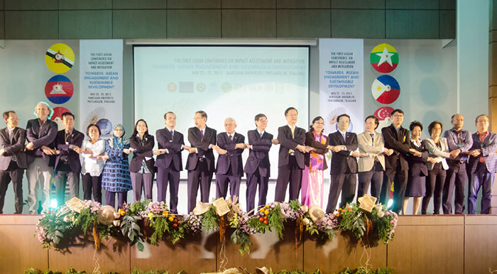 The 1st ASEAN Conference Impact Assessment under the theme of Impact Assessment and Mitigation towards ASEAN Engagement and Sustainable Development was held in Phitsanulok Province, Thailand. HIA workforce was raised as a critical concern.