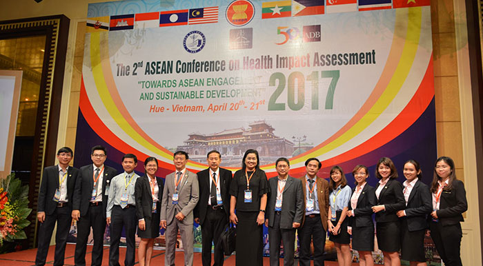 "2017 - ASEAN Conference on Health Impact Assessment under the theme ""Health Impact Assessment : Towards ASEAN Engagement and Sustainable Development"", Vietnam"